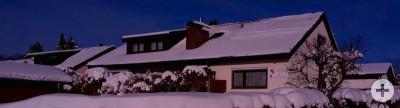 Haus Sonnenblick im Winter